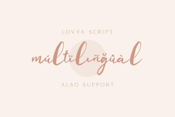 Lovya Font