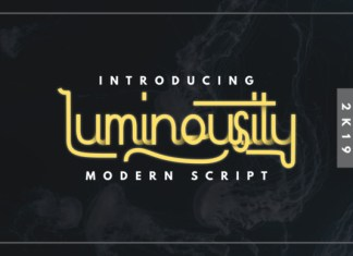 Luminousity Font