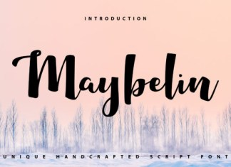 Maybelin Font