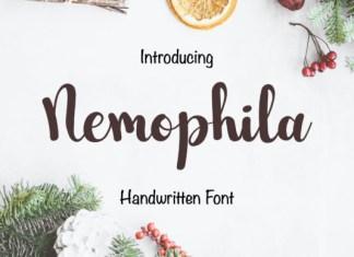 Nemophila Font