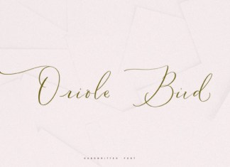 Oriole Bird Font