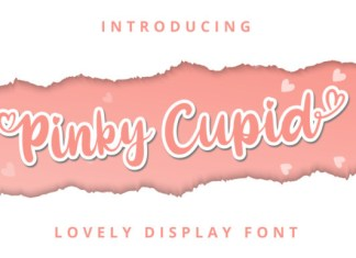 Pinky Cupid Font