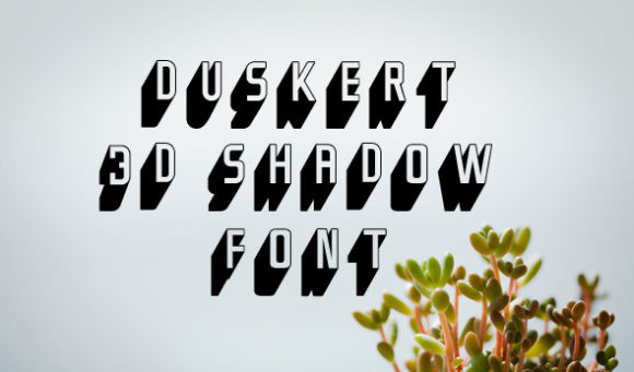 DuskerT Font