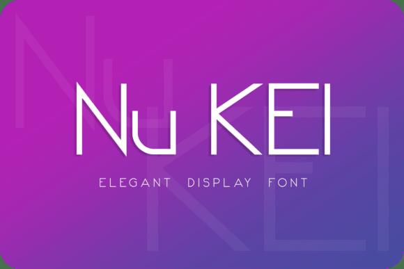 Nu Kei Font