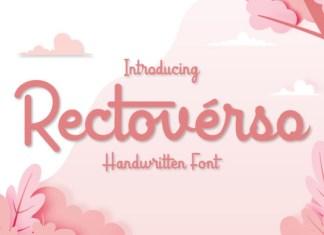 Rectoverso Font