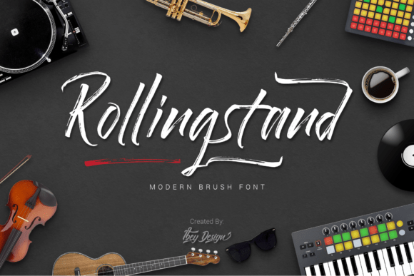 Rollingstand Font