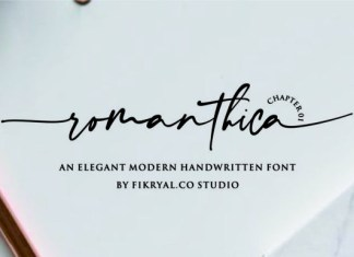 Romanthica Font