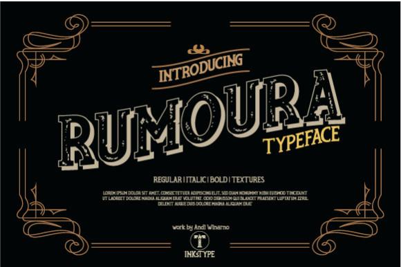 Rumoura Font