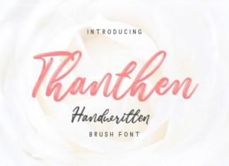 Thanthen Font