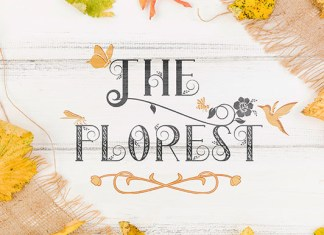 The Florest Font