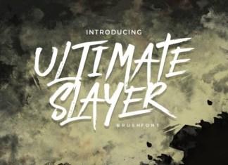 Ultimate Slayer Font