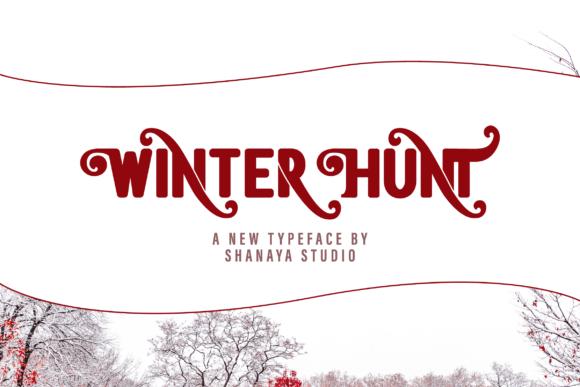 Winter Hunt Font