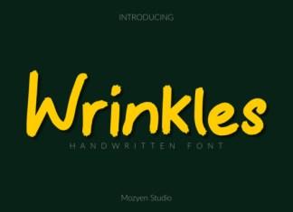 Wrinkles Font