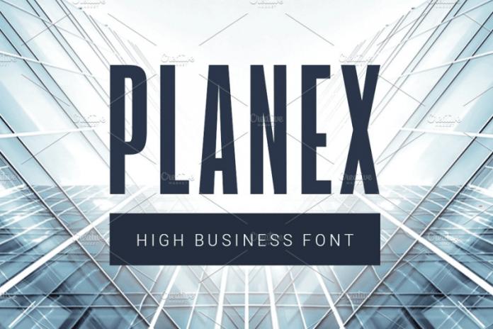 Planex Font