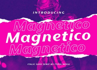 Magnetico Font