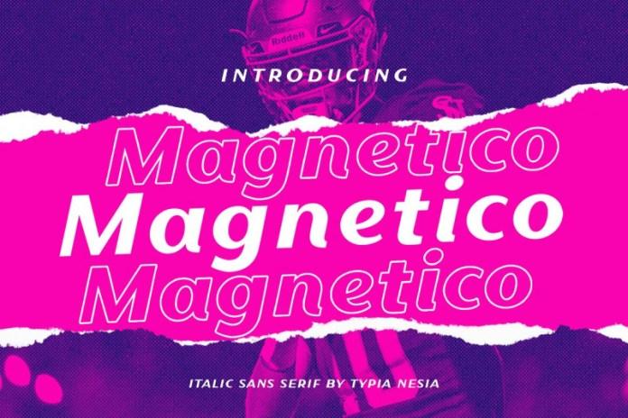Magnetico Font