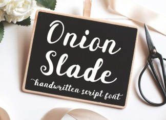 Onion Slade Font