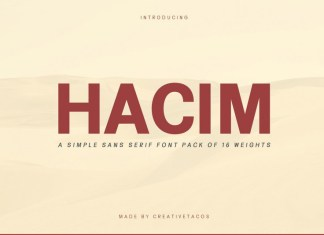 Hacim Simple Font