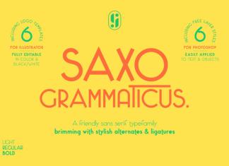 Saxo Grammaticus Font