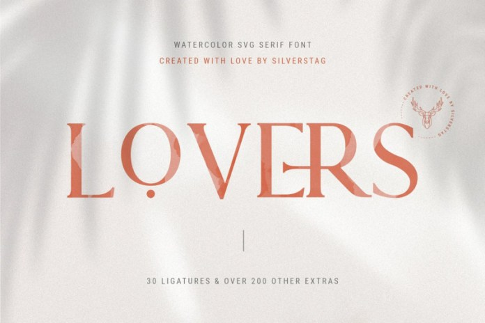 Lovers Font