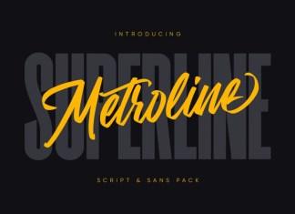 Metroline Font
