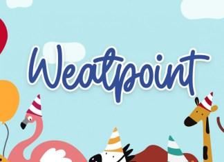Weatpoint Font