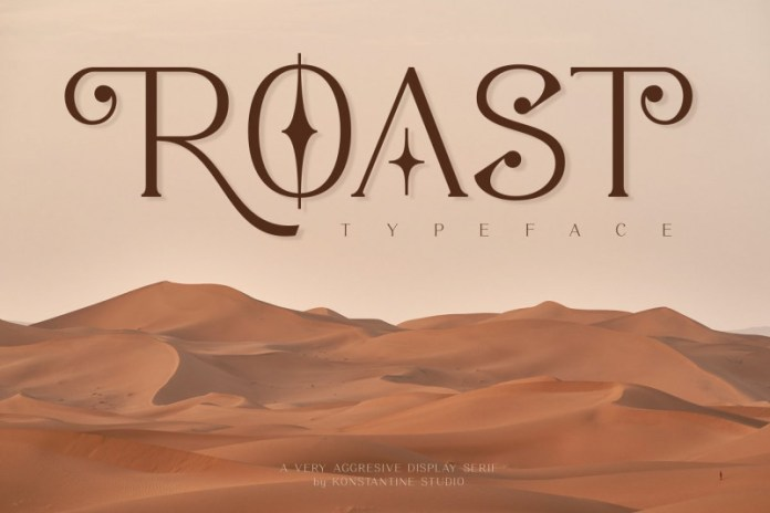 ROAST Font