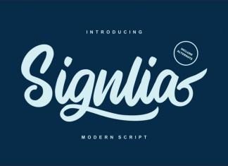 Signlia Font