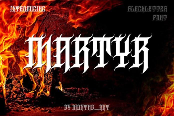 Martyr Font