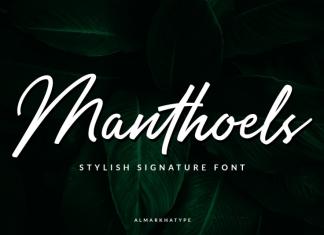 Manthoels Font