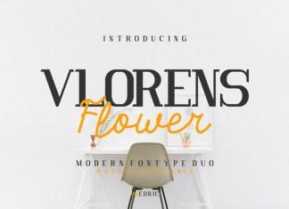 Vlorens Flower Font