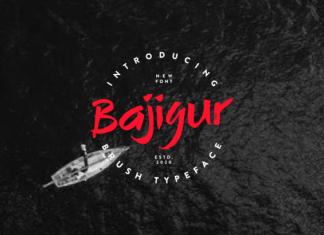 Bajigur Font