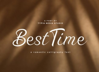 Best Time Font