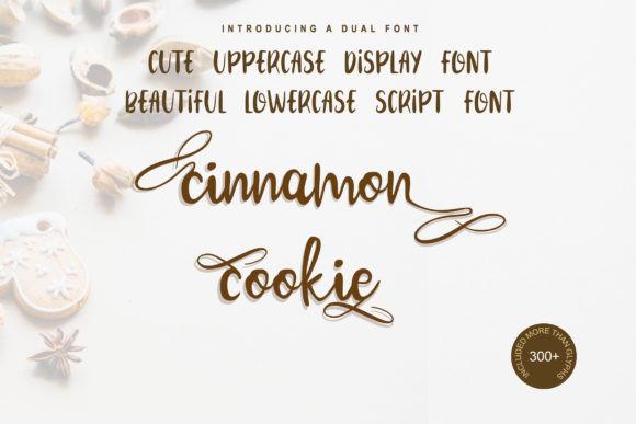 Cinnamon Cookie Font