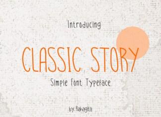 Classic Story Font