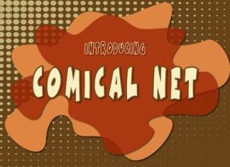Comical Net Font