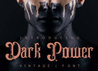 Dark Power Font