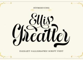 Ellis Greatter Font