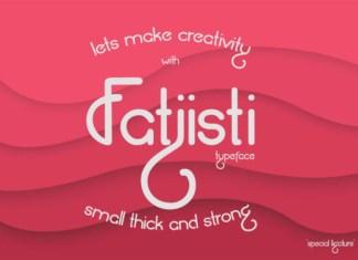 Fatjisti Font