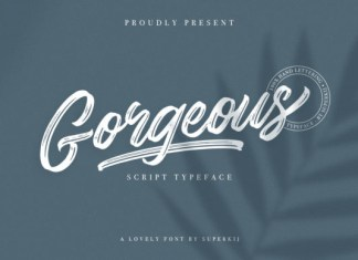 Gorgeous Font