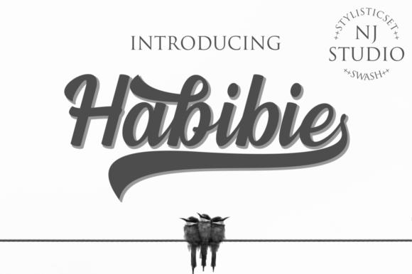 Habibie Font