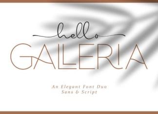 Hello Galleria Font