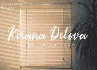Kirana Delova Font