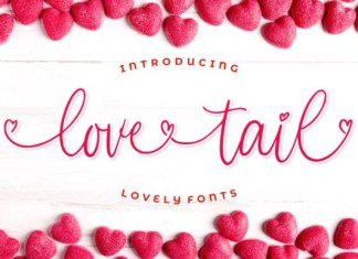 Love Tail Font
