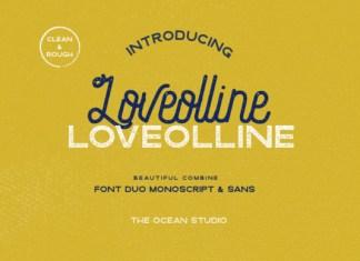 Loveolline Font