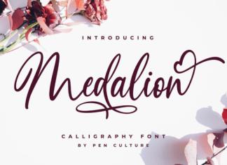Medalion Font