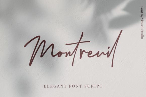 Montreuil Font