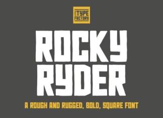 Rocky Ryder Font