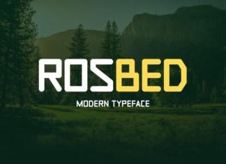 Rosbed Font