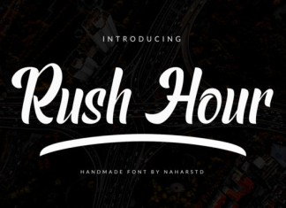 Rush Hour Font